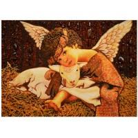 Ангелочек с ягненком