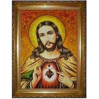 Икона Непорочное сердце Господа Иисуса Христа