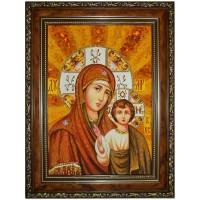 Казанская Божья Матерь (часть венчальной пары)