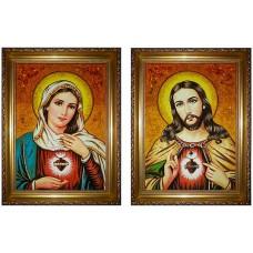 Венчальная икона Непорочное сердце