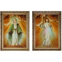 Образ Иисуса Милосердного и Девы Марии