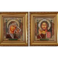 Икона Казанской венчальной пары