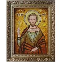 Икона - святой мученик Леонид