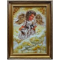 Ангелочек с синичкой