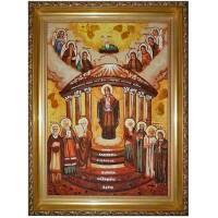 Икона Премудрость созда Себе дом - Семь святых