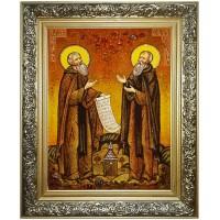 Преподобные Зосима и Савватий  - Соловецкие