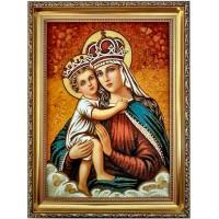 Икона Богородицы с мдаденцем