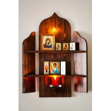 Домашний иконостас №9 (полки для икон)