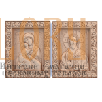 Икона спасителя (часть Венчальной пары)